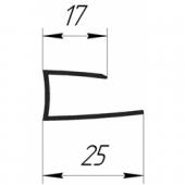 Стартовый П-профиль 17х25 мм (Экстра)