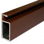 Рамный профиль КОРИЧНЕВЫЙ 25х10,5 мм 6,0м